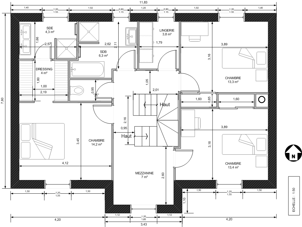 Global Home Construct | 877942plan-maison-2010-etage-0-2