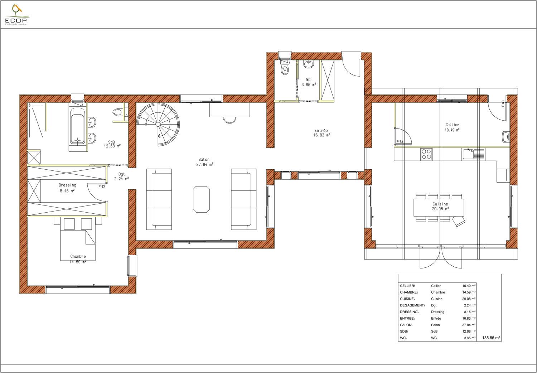 Global home construct ghc 001 for Les plans des maisons